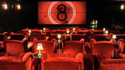 Luxury Soho Cinema & Dining for Two