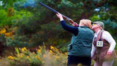 Clay Pigeon Shooting Near London for Two
