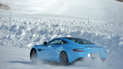 Aston Martin on Ice – Ice Driving Experience