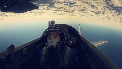 Edge of Space Experience in MiG – 29